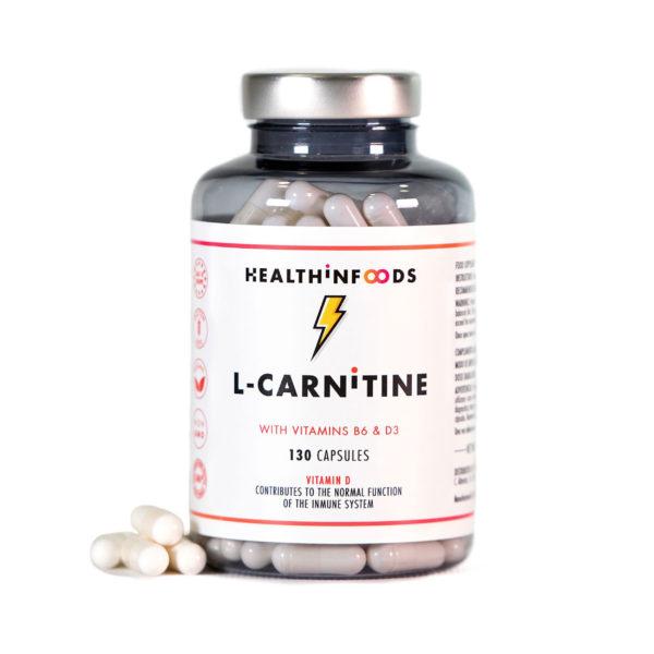 Healthinfoods | Complementos Nutricionales | Envío Gratis l carnitine2500